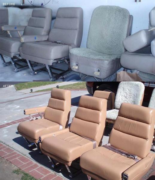 Plane Repair Seat